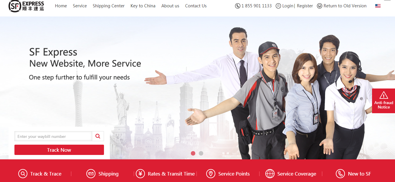 The New SF Express US Website has Launched!